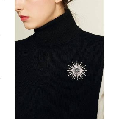 胸针ins潮高档个性气质胸花复古配饰女韩国毛衣别针大气饰品装饰