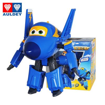奧迪雙鉆 AULDEY 超級飛俠 3歲以上男孩女孩兒童益智玩具套裝禮物禮盒 大號變形機器人-酷飛 710230
