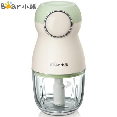 小熊(Bear)嬰兒輔食機 0.3L便攜式充電寶寶料理機榨汁機電動家用迷你多功能果汁杯切碎絞肉機小型 QSJ-B01F1