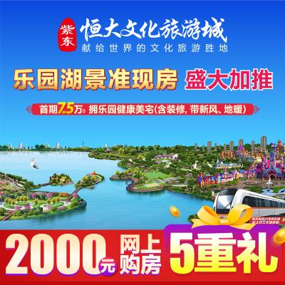 紫東恒大文化旅游城意向金