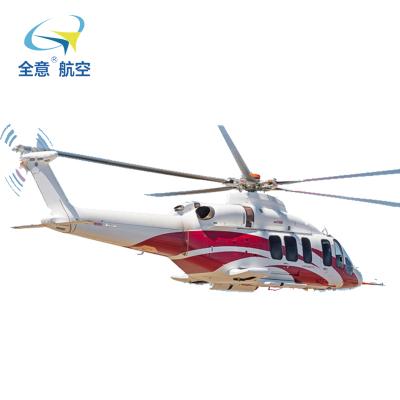 貝爾525直升機全意航空出租 載人直升機租賃私人飛機出租 租真飛機 買真飛機 真機出租 真機高端婚禮 通航服務