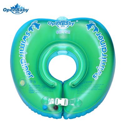 欧培(OPEN BABY)婴儿游泳圈 儿童游泳救生圈 幼儿脖圈 翡翠绿色 脖圈S码