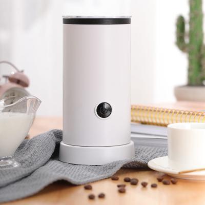 全自動冷熱奶泡機家用時光舊巷電動打奶器打泡器咖啡奶沫機牛奶加熱器 普通接觸式奶泡機