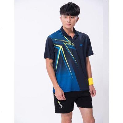 乒乓球服套装男速干衣服运动短袖训练比赛队服定制羽毛球服装女款