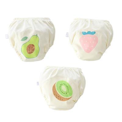 寶寶尿布褲6層紗布嬰兒學習訓練褲純棉防水兒尿布兜