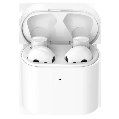 小米(mi)藍牙耳機 Air2代 真無線入耳式降噪耳機 輕巧便攜 白色