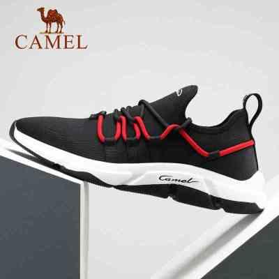CAMEL骆驼户外运动鞋 春夏男款年轻时尚韩版潮流袜套舒适休闲老爹鞋