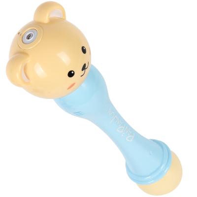 童励TongLi全自动声光泡泡棒 泡泡机 不漏水七彩 电动补充液 泡泡枪玩具 沙滩玩具 儿童吹泡泡 3岁以上 ABS材质