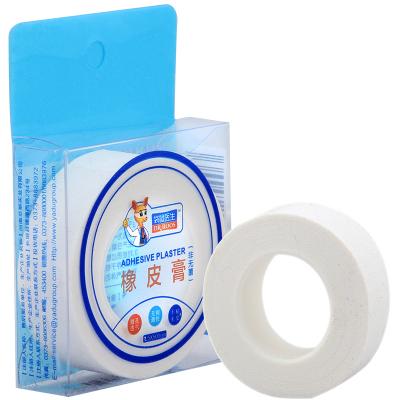袋鼠醫生橡皮膏醫用膠布棉布白色壓敏膠帶 2.5*500cm/卷 記號貼閉嘴貼輸液貼留置針貼古箏護指