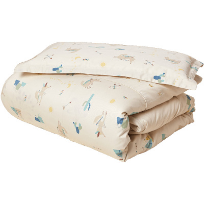 CottonTown 棉花堂嬰兒床上用品純棉被罩寶寶秋冬幼兒園兒童三件套床單枕頭套 2785