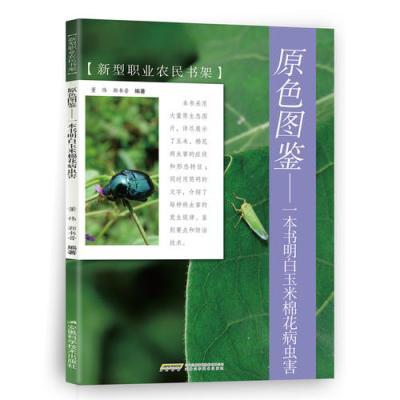 原色圖鑒——一本書明白玉米棉花病蟲害