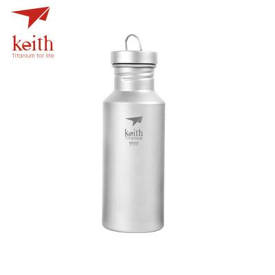 keith鎧斯鈦水壺純鈦戶外運動飲料瓶騎行水具登山壺可燒水杯子Ti3030 Ti3031 Ti3032