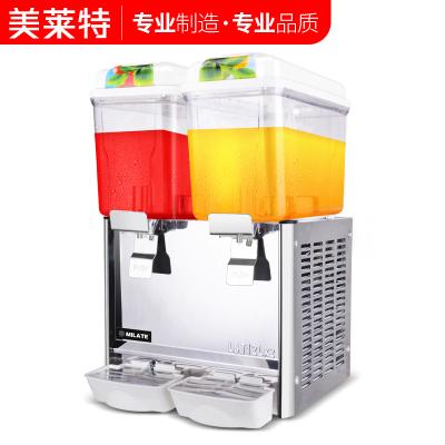美莱特商用饮料机 冷饮机冷热12L双缸饮料机 果汁机奶茶店饮料机