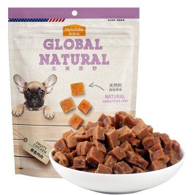 麥富迪北美原野果香雞肉360g雞肉絲雞肉干雞胸肉訓練獎勵寵物零食
