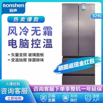 (99新)容聲(Ronshen) BCD-328WKM2MPC 328升 法式四門冰箱 精品小法式 粉韻流紗