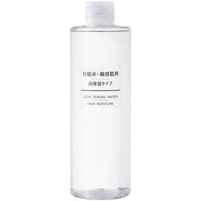 MUJI无印良品敏感肌系列化妆水爽肤水 高保湿型 400ml 温和舒敏 保湿补水 干性敏感性肤质适用【日本原装进口】