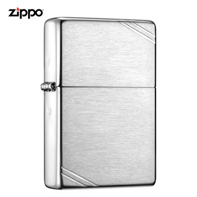 zippo之宝打火机美国原装ZIPPO防风煤油打火机古典切角沙子230-045109