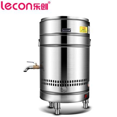 樂創(lecon) 45型煮面桶商用煮面爐燃氣關東煮機面條機不銹鋼雙層保溫電熱節能煮面鍋煲粥關東煮串串香設備
