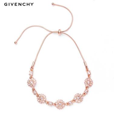 Givenchy/纪梵希 清新花语系列施华洛世奇人造水晶可调节手链