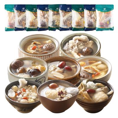 膳太 11包健康帶給全家喝滋補品養生燉湯煲湯料 春季廣東湯煲湯材料干貨 K08