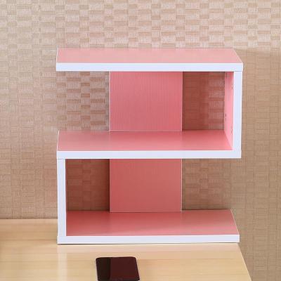 蘇寧放心購桌上CD架收納架置物架碟片架子電腦辦公小書架展示架美甲裝飾書房A-STYLE