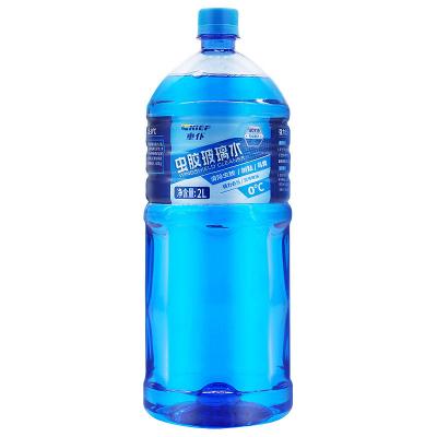 车仆虫胶玻璃水2L汽车雨刮水玻璃液车用强力去污雨刷精四季通用