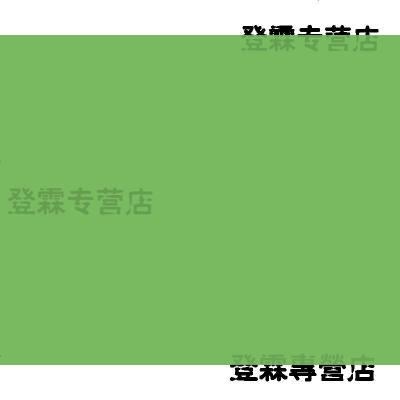 定做 彩色內墻漆調色水性乳膠漆墻面凈味涂料彩色紅黃藍綠紫墻漆小桶裝 5L 綠色