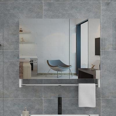 鏡柜掛墻式閃電客隱藏式浴室儲物柜衛生間鏡子帶置物架洗漱鏡柜收納鏡箱