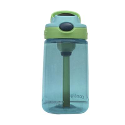 美國直采康迪克(contigo)兒童吸管杯寶寶水壺學生水杯414ml 淺藍色