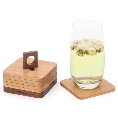 木質杯墊隔熱墊桌墊餐墊茶幾茶杯墊創意咖啡杯墊實木餐桌墊防燙墊