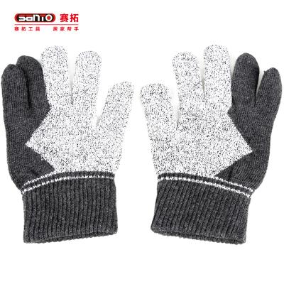 赛拓(SANTO)2090 HPPE运动三指防割手套 户外手套军迷用品