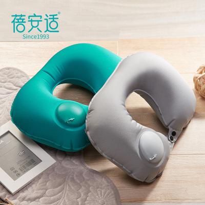 便携快速按压充气枕旅行U型保护颈椎枕头靠枕飞机旅游护颈