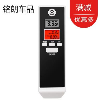 黑色 酒精测试仪吹气式高精度交警查浓度测量仪器测酒驾