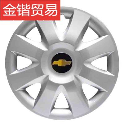 雪佛兰新赛欧 乐风汽车轮毂盖轮胎罩车轮盖赛欧轮毂装饰盖13寸14寸钢圈轮胎盖 黑金标 适用14寸轮毂【1个价格】