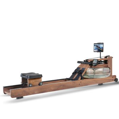 澳瑪仕AOMAS 水阻劃船機家用液阻紙牌屋同款劃艇器商用靜音瘦身健身器材