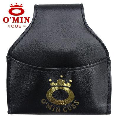 Omin奧秘巧粉袋槍粉袋斯諾克巧克袋巧克粉袋桌球桿配件臺球桿用品