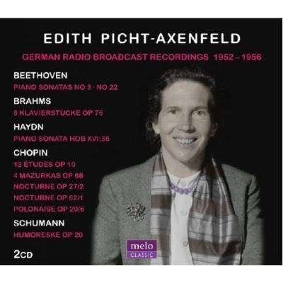 Melo MC1043 Edith Picht Axenfeld 鋼琴作品集 2CD 預訂
