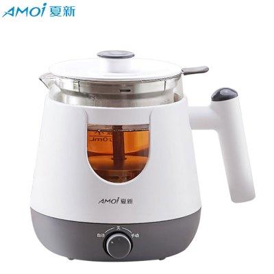 夏新(AMOI) 養生壺黑茶煮茶器全自動家用蒸汽小型辦公多功能玻璃電煮茶壺 機械款