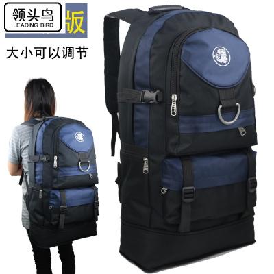 領頭鳥 60升新款戶外登山包大容量男女旅行背包旅游雙肩包休閑運動背包