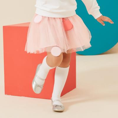 【99元任選3件】moomoo童裝女童短裙新款春秋裝洋氣潮中大兒童網紗半裙子
