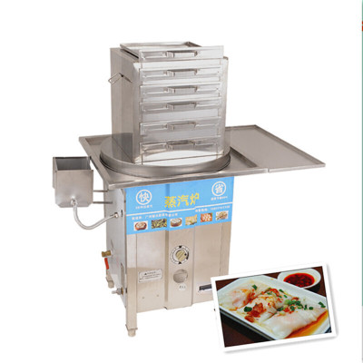 納麗雅(Naliya)腸粉機煤氣商用抽屜式節能家用腸粉爐蒸粉機腸粉撐 兩抽一份五層
