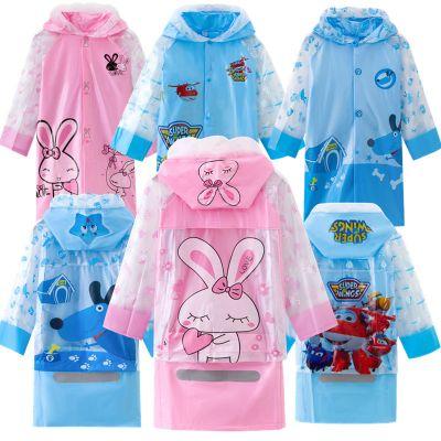 欣鴻茗兒童雨衣帶書包位卡通雨披男女童小孩幼兒園時尚學生雨衣