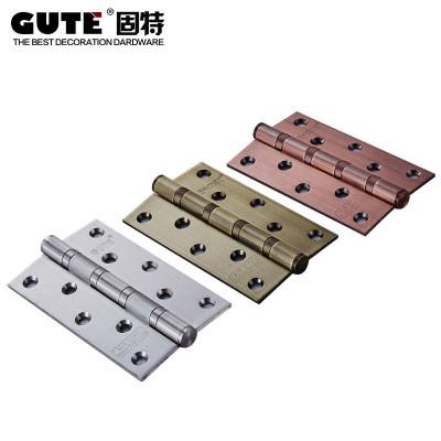 固特GUTE 不锈钢5寸润滑轴承房门静音合页(5430) 三色可选