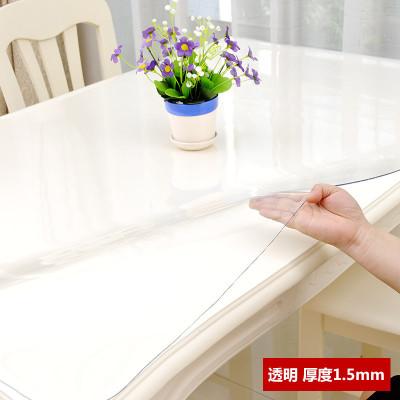 凡軒 軟玻璃PVC桌布防水防燙防油免洗透明膠墊塑料餐桌墊茶幾墊水晶板桌布