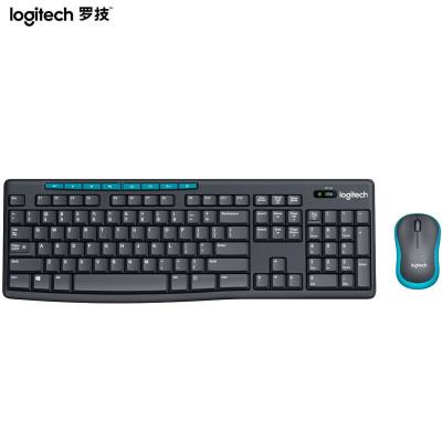 羅技(Logitech)MK275 無線光電鍵鼠套裝 無線鼠標無線鍵盤套裝