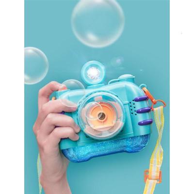 泡泡机儿童抖音网红同款仙女全自动相机电动七彩吹泡泡神器玩具