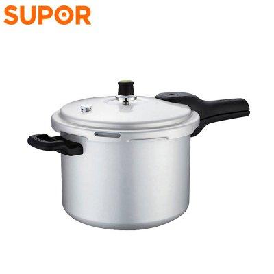 蘇泊爾(SUPOR) 壓力鍋鋁合金燃氣家用高壓鍋 2-4人使用 6.0L YL223H2