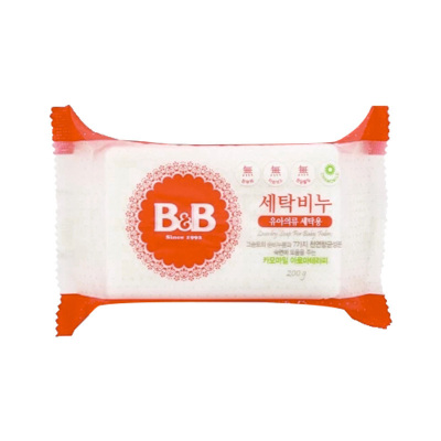 B&B 保寧 嬰兒天然除菌洋甘菊洗衣皂 200g