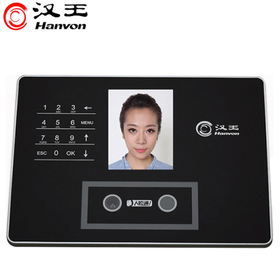 漢王考勤機C330ES升級版 人臉識別打卡機 面部識別考勤機上下班刷臉簽到