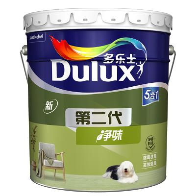多樂士(Dulux) 第二代五合一凈味內墻乳膠漆 墻面漆油漆涂料 A890 18L